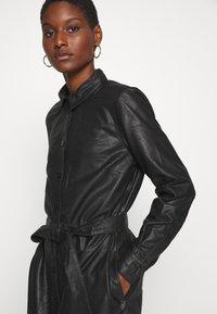 Kaffe - KALEANN DRESS - Shirt dress - black deep - 4
