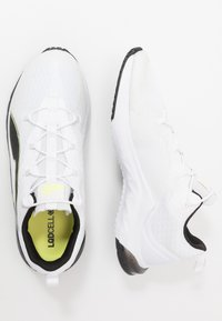 Puma - LQDCELL HYDRA - Sports shoes - white/fizzy yellow/black - 1