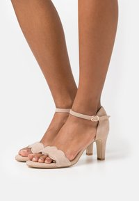 Anna Field Wide Fit - LEATHER - Sandales - beige - 0