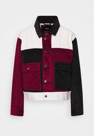 HENDRIX - Summer jacket - black/bordeaux