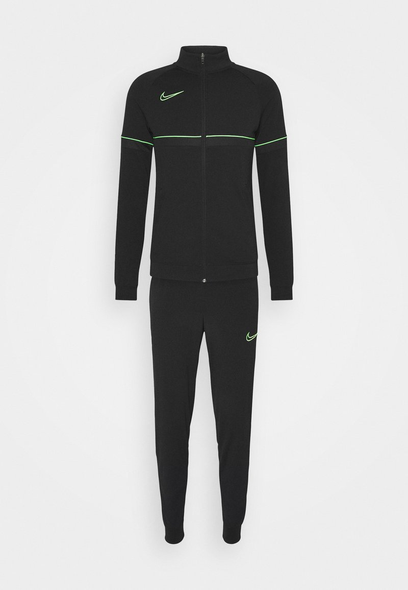 Nike Performance - Survêtement - black/green strike