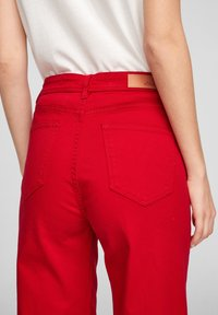s.Oliver - Trousers - true red - 5