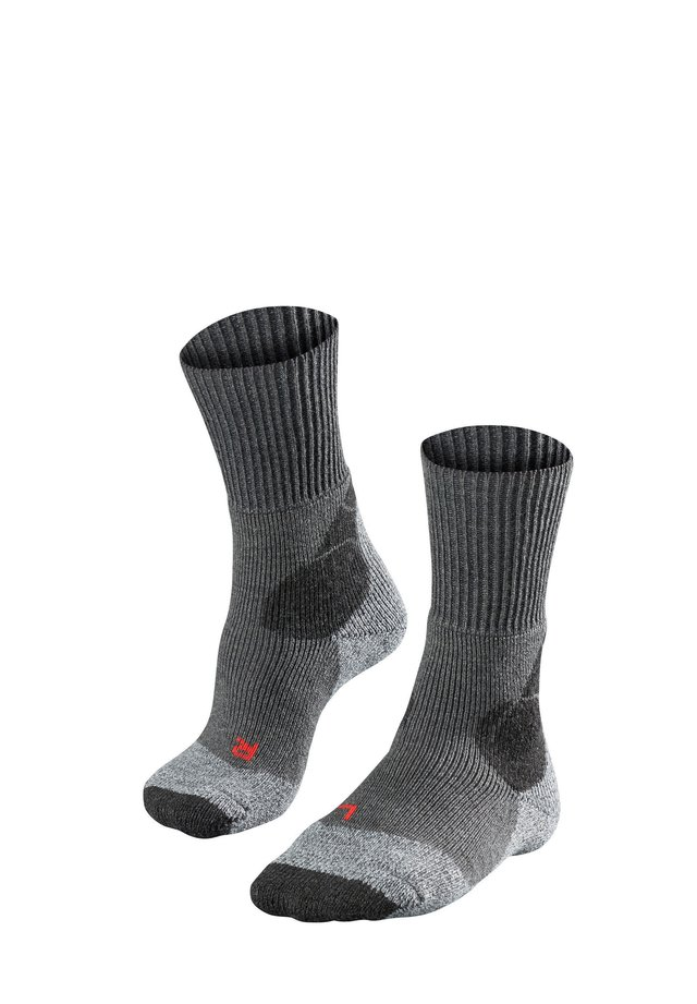 TK4 - Sports socks - asphalt mel. (3180)