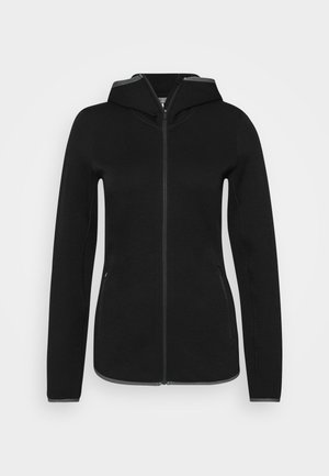 ELEMENTAL ZIP HOOD - Zip-up hoodie - black