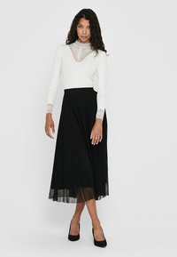 ONLY - Pleated skirt - black - 1