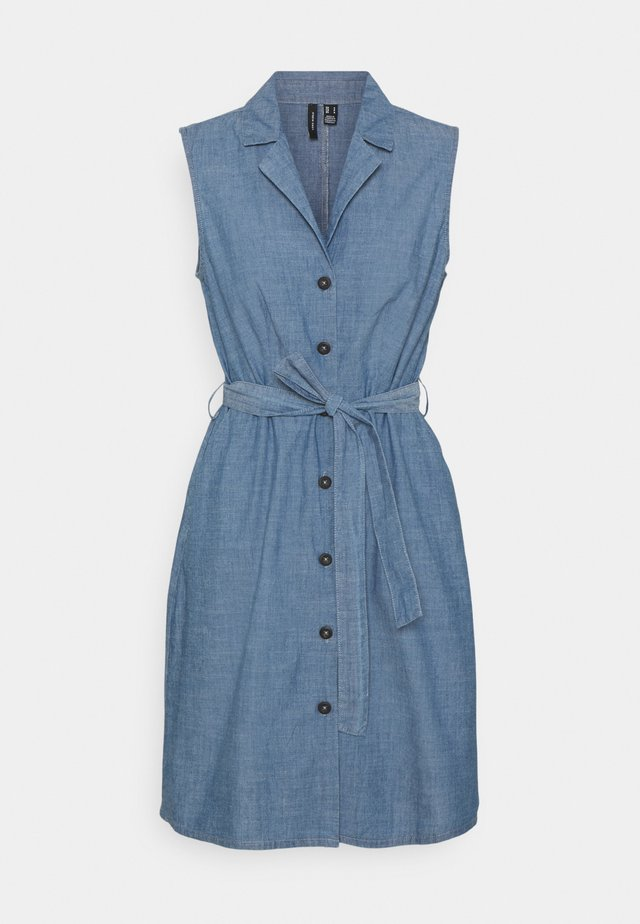 VMAKELASANDY  SHORT DRESS - Sukienka jeansowa - medium blue denim