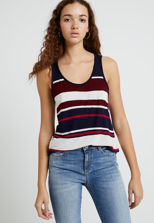 BEBOP - Top - navy/red/white