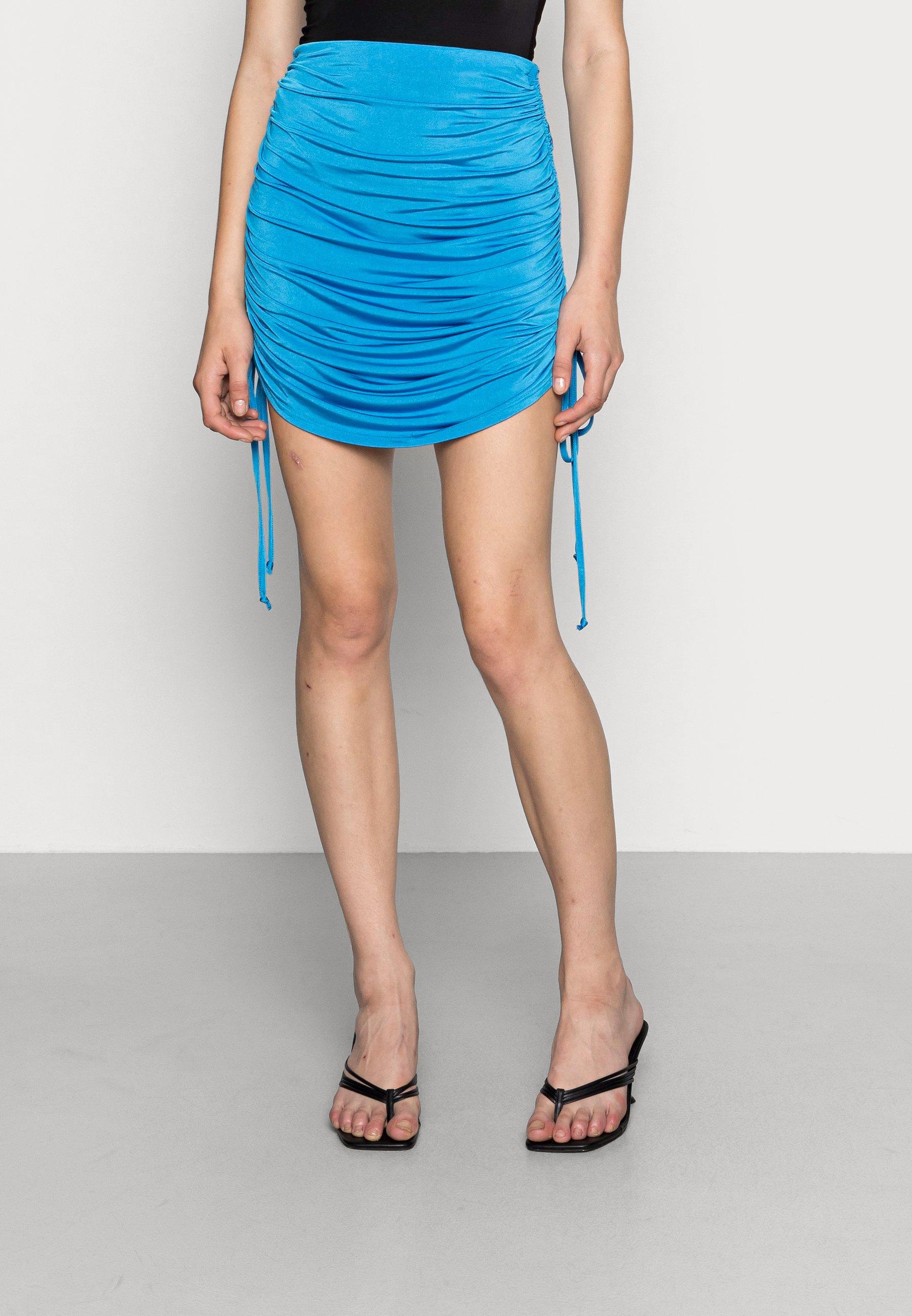 Femme DRAWSTRING MINI SKIRT - Minijupe