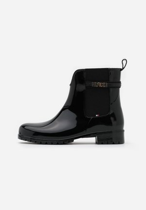 BLOCK BRANDING RAINBOOT - Kumisaappaat - black