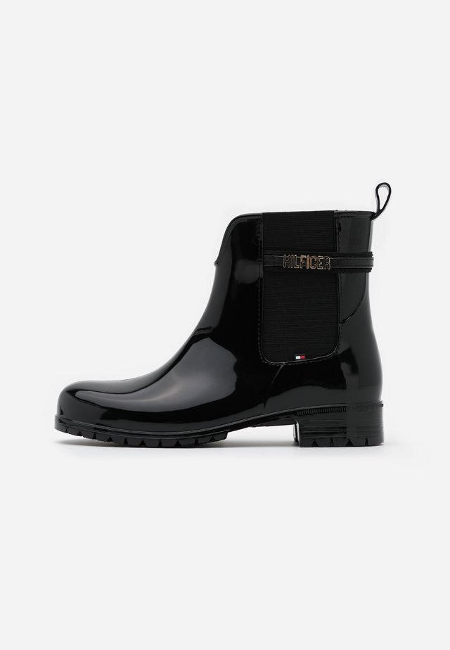 BLOCK BRANDING RAINBOOT - Regenlaarzen - black