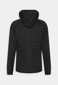 Jack & Jones - JJEMULTI QUILTED JACKET - Light jacket - black - 1