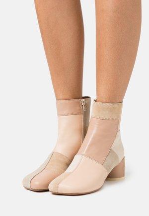 STIVALETTO - Classic ankle boots - multicolor/nude