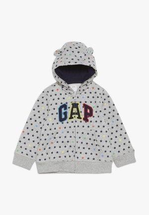 ARCH HOOD BABY - Mikina na zip - light heather grey