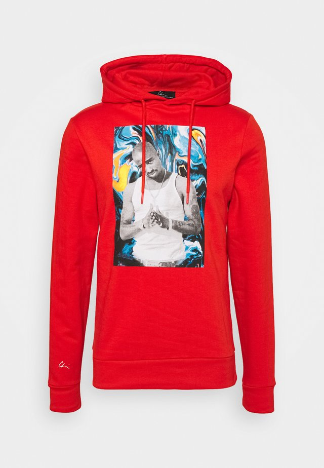 PAC PAINT - Hoodie - orange/white