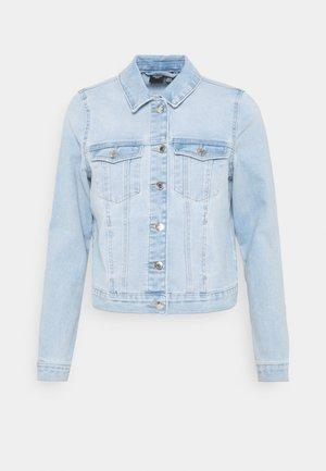 VMFAITH SLIM JACKET MIX - Jeansjakke - light blue denim