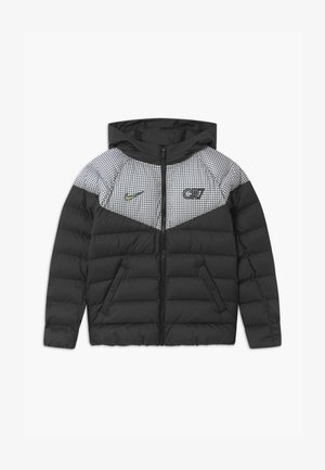 CR7 PADDED  - Winter jacket - black/white/iridescent