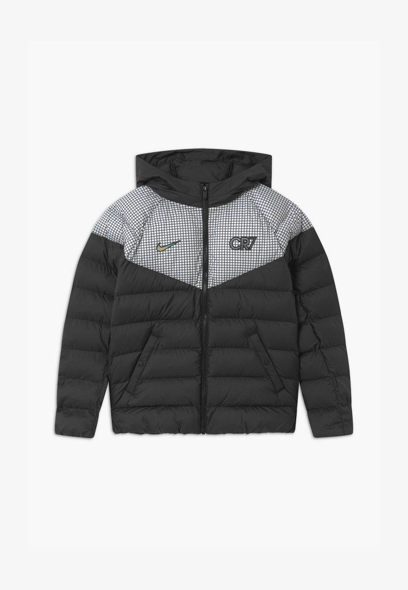 Nike Performance - CR7 PADDED  - Winterjas - black/white/iridescent