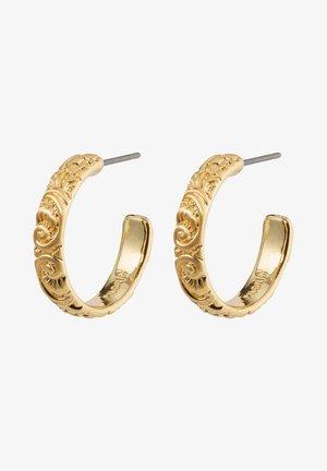 Boucles d'oreilles - gold plated