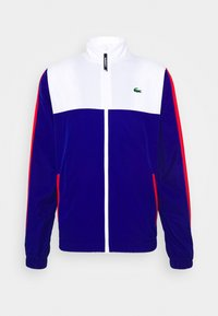 Lacoste Sport - TENNIS TRACKSUIT - Survêtement - white/cosmic red