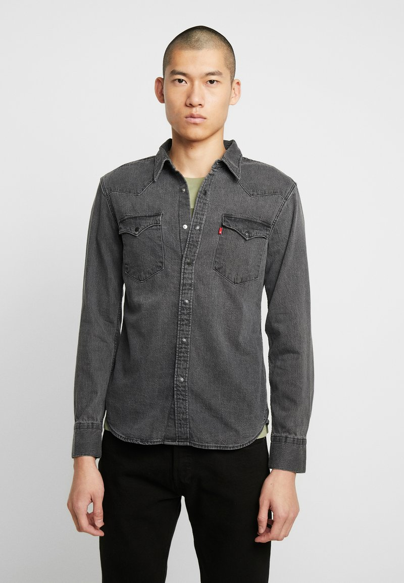 Levi's® - BARSTOW WESTERN SLIM - Shirt - black worn