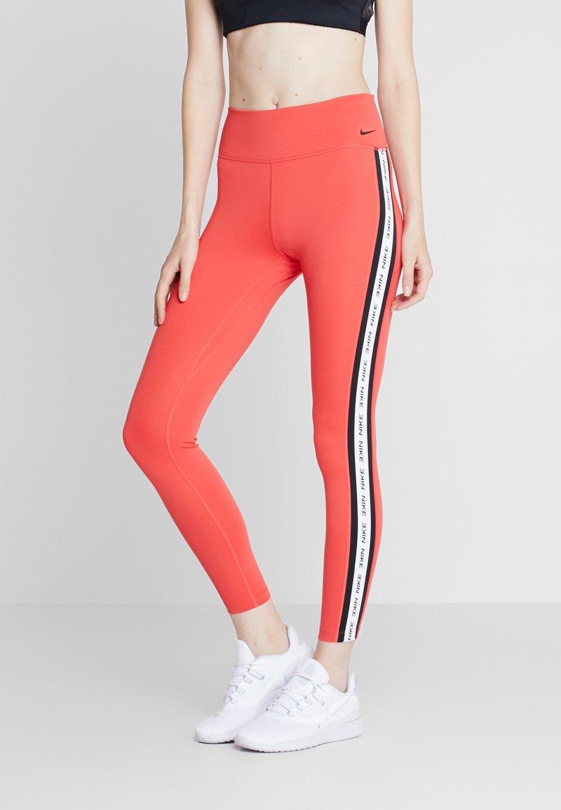 Nike Performance - ONE - Leggings - track red/black
