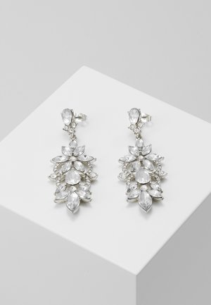 PCFLO EARRINGS - Earrings - silver-coloured