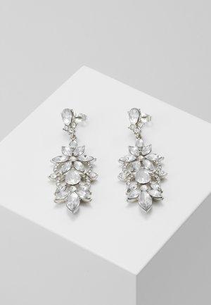 PCFLO EARRINGS - Orecchini - silver-coloured