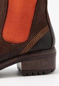 Lazamani - Ankle Boot - brown/orange - 2