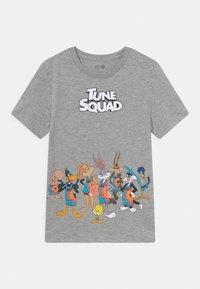 GAP - WARNER BROTHERS LOONEY TUNES BOYS - T-shirt imprimé - light heather grey - 0