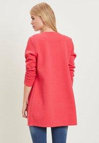 Vila - VINAJA NEW LONG JACKET - Summer jacket - red - 2