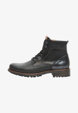 SCHOENEN  - Lace-up ankle boots - schwarz