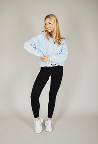 one more story - BASIC  - Zip-up hoodie - arctic ice color - 2