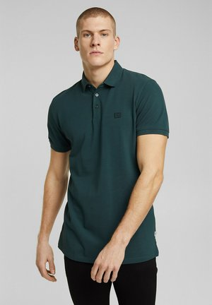 Polo shirt - teal blue