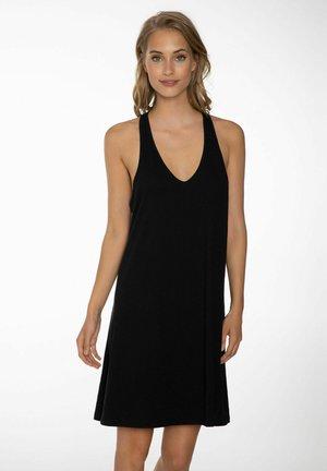 FELINE - Jersey dress - true black