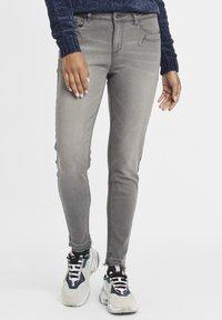 Oxmo - Irabelle - Slim fit jeans - grey denim - 0