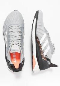 adidas Performance - SOLAR GLIDE ST 19 - Stabilty running shoes - grey two/footwear white/solar orange - 1