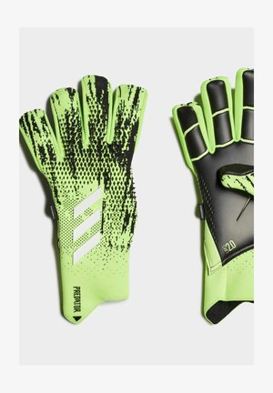 PREDATOR 20 PRO FINGERSAVE  - Goalkeeping gloves - green