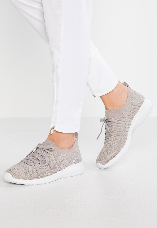 WIDE FIT ULTRA FLEX - Mocassins - taupe