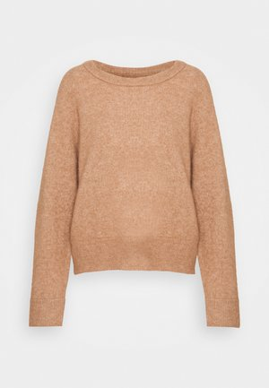 Jumper - camel brown melange