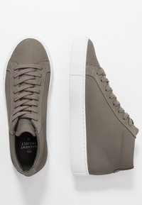 GARMENT PROJECT - TYPE MID SLIM SOLE - Korkeavartiset tennarit - grey - 3
