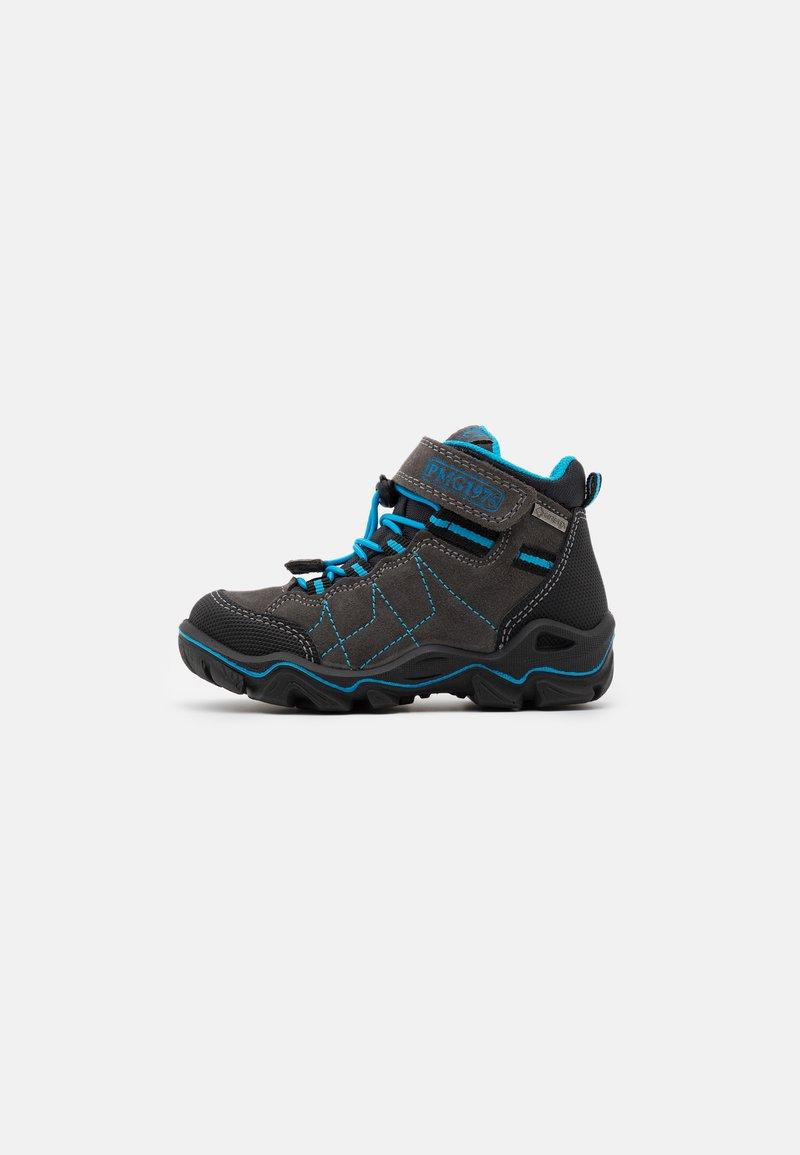 Primigi - Lace-up ankle boots - grey/blue