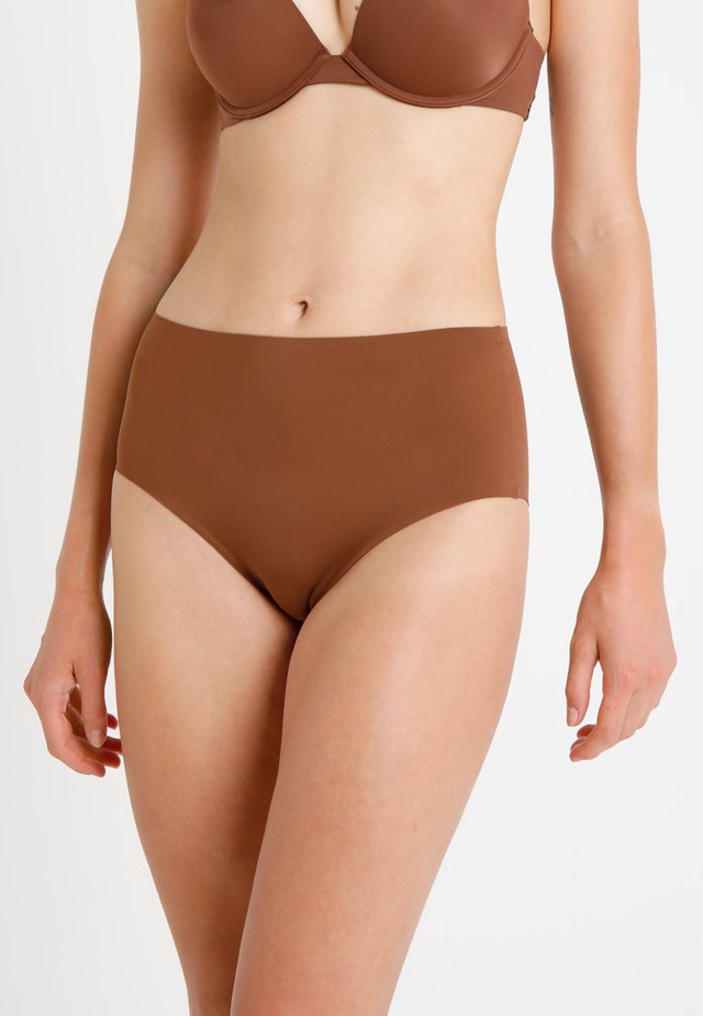 HIGH WAIST BRIEF - Shorty - mahogany