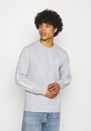 ESSENTIALS TEE - Long sleeved top - grey heather