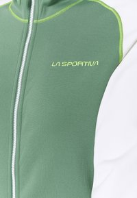 La Sportiva - ALARIS HOODY - Fleecejakker - grass green/white - 2