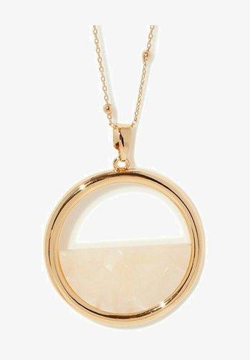 RESINE - Necklace - beige