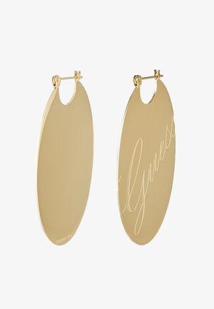LIQUID - Earrings - gold-coloured