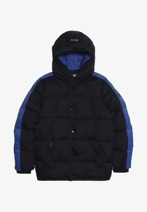JACKET WITH DOUBLE HOOD CONSTRUCTION - Winterjacke - night
