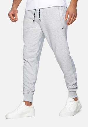 TRIFOLIATE - Pantalon de survêtement - ecru marl