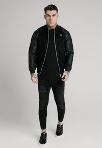SIKSILK - DETECT - Bomber Jacket - black - 1