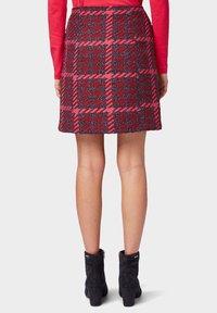 TOM TAILOR - ROCK - A-line skirt - red pink - 2
